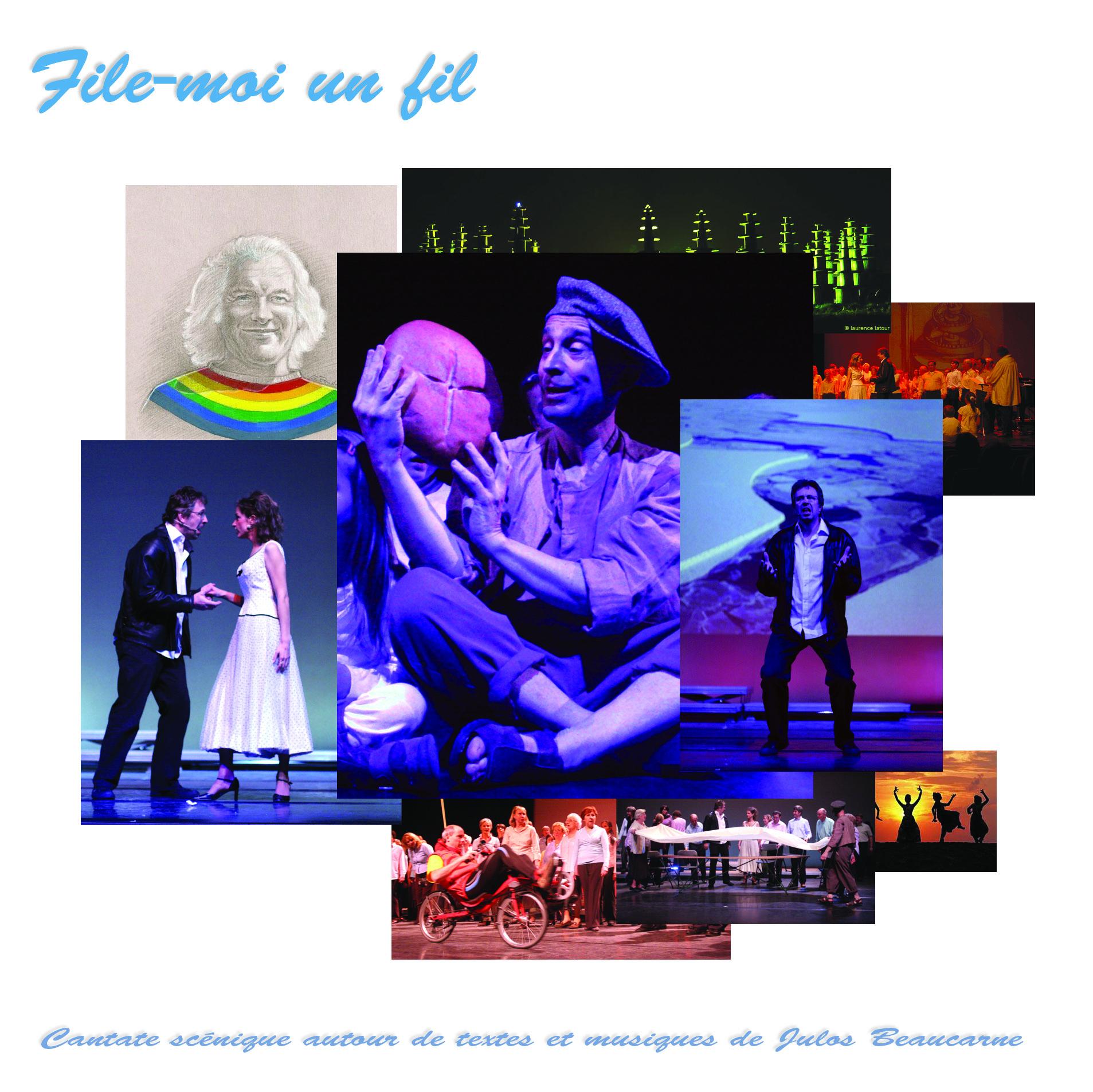 [ 2008 Novembre ] File-moi un fil @ Nuovo Marco & Choeur de Boondael - cover