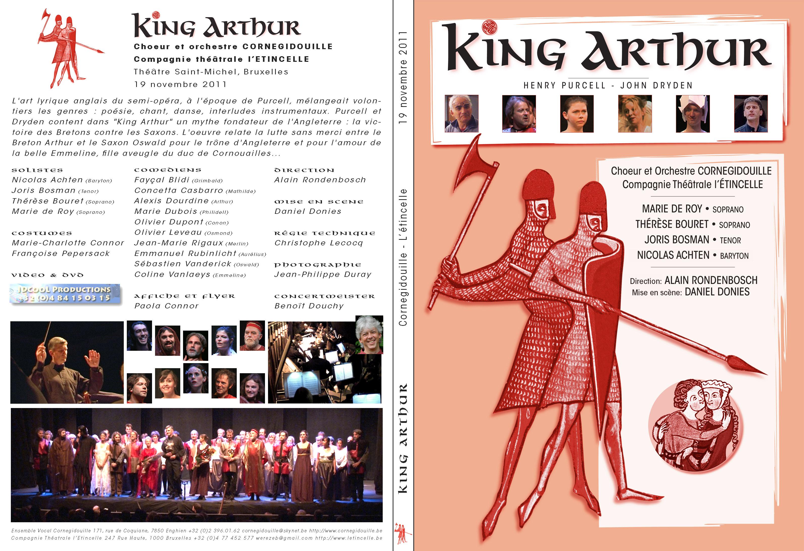 [ 2011 Novembre ] King Arthur @ Cornegidouille & L'étincelle - cove
