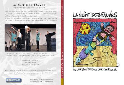 [ 2012 Novembre ] La nuit des fauves @ Gaëlis Production - cover