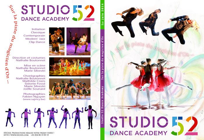 D_Projects [2PRJD]Spectacle[ 2014 Juin ] Sur la piste du magicien d'Oz @ Studio 52 Dance Academy - jaquette2