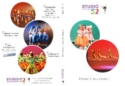 [ 2012 Juin ] Rêveries et jeux d'enfants @ Studio 52 Dance Academy - jaquette DVD